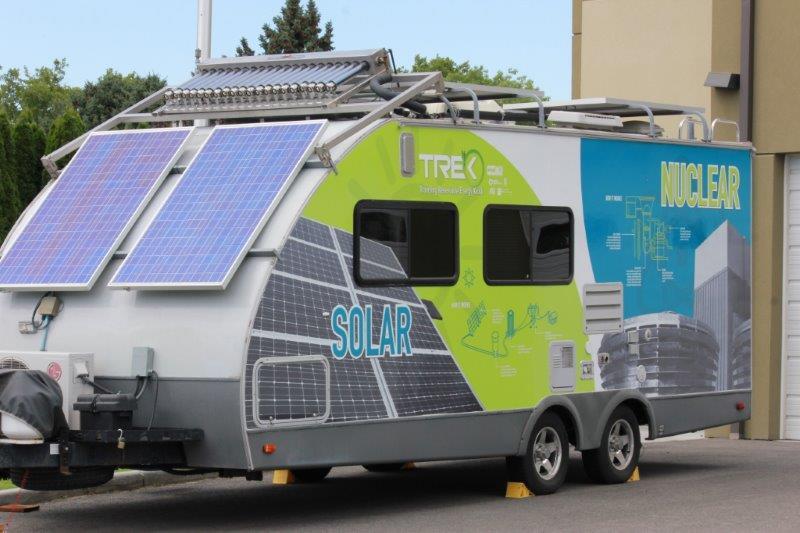 Mobile energy kiosk